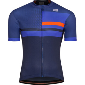 Sportful Team 2.0 Drift Jersey Herren twilight blue/blue cosmic/orange sdr